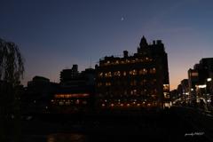 四条大橋の夕べ