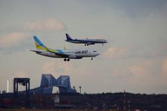 AIRDO(JA09AN)737-781&ANA(JA149A)A321-272