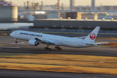 JAL(JA742J)777-346ER@羽田_1