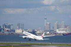 JAL(JA05XJ)A350-941@羽田