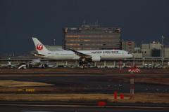 JAL(JA862J)787-9@羽田