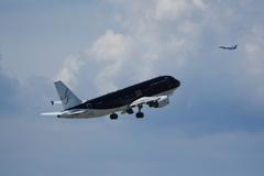 スターフライヤー(JA09MC)A320-214@セントレア