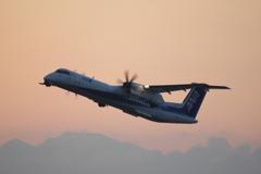 ANAウイングス(JA460A)ボンバルディア DHC-8-402Q-8