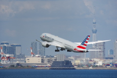 アメリカン航空(N827AN)787-9