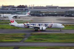 JAL[20thARASHIThanksJET](JA04XJ)A350@羽田_