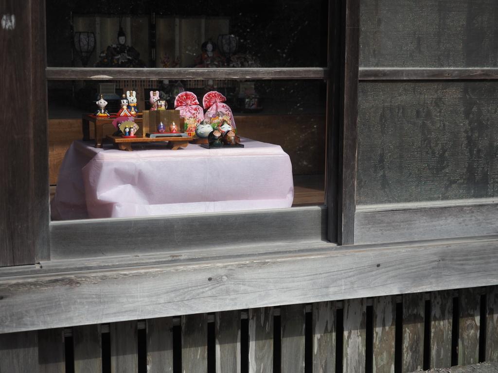 知覧 武家屋敷の雛飾り