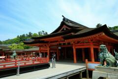 旅HITO ~厳島神社 社殿~