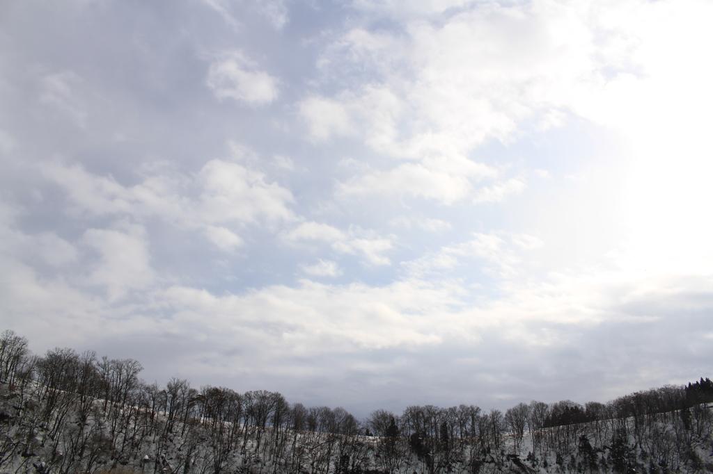 冬のパノラマ(信濃町)