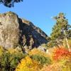 屏風岩と秋色