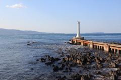 瀬詰崎灯台と早崎瀬戸