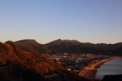 残したい風景-千々石町と雲仙岳