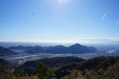 百々ケ峰からの展望