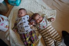 12月生まれの孫たち