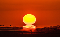 ~Fiery Sunset~