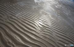 五島の旅-砂浜の造形