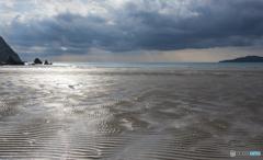 白砂の海岸