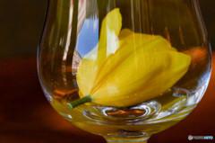 グラスの中に春を見つけた