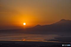 白木峰 初日の出