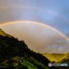 名もなき谷の幸せの虹