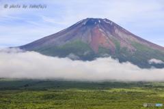 夏富士の彩