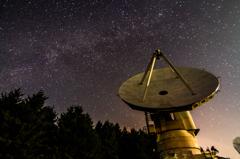 天頂の銀河