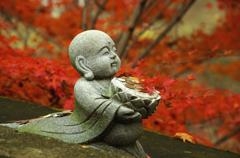 秋の記憶:托鉢