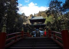 禅寺の空に