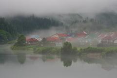 霧に染まる