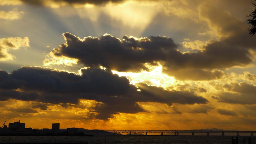 定点観測:夕日