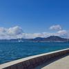 大久野島 海辺からの景色