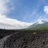 岩手山と焼走り溶岩流