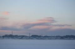 雪の日の朝2