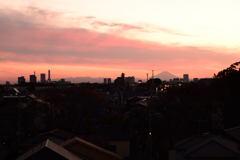 夕方の富士-2