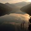 黎明の徳山湖