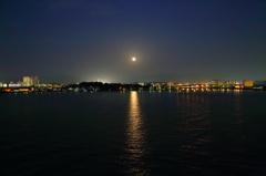 月の出('14.4.15) ~ 月光浴~