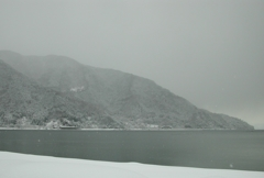 高島市 雪空#2