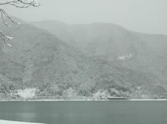 高島市 雪空#1