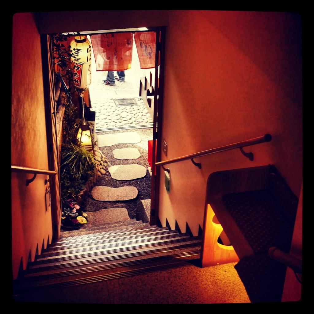京町屋の入口