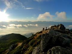 空木岳山頂