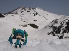 ミクさんと山登りしてきたった。