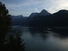 ルツェルン湖夕景