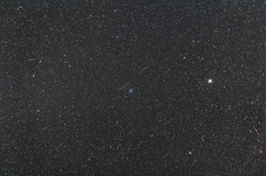 輻射点からふたご座流星群2013しし座側