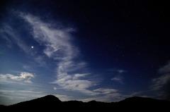 夜空を舞うドラゴン ^^;
