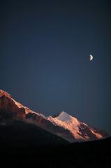 シルバーホルンと月