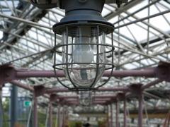 metal,glass&lamp