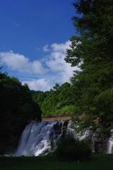 龍門の滝-那須烏山市④