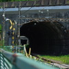 横須賀駅付近のトンネル