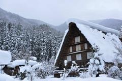 雪の石川郷
