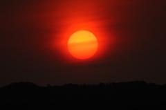 夕日が綺麗な日