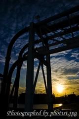 Sunset kobe 2008 003
